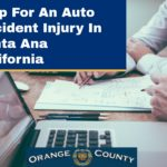 Help For An Auto Accident Injury In Santa Ana California