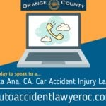 Car Accident Injury Lawyer Santa Ana California